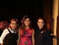 Inês Mesquita, Márcia Travessoni e Patricia Macedo