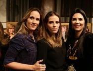 Larissa Mendes, Isabel Brasil e Priscila Fontenele