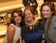 Marcia Andreia, Elizinha Feitosa e Lidia Steves