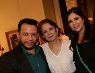 Roberto Alves, Lenita e Lúcia Negrão