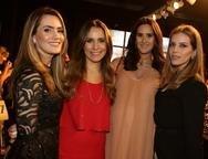 Tatiana Feitosa,Ticiana Machado, Mariana  Ary, e Isabel Brasil