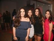 Beatriz Castro, Lara Castelo Branco, Mirela Bezerra e Marina Aguiar