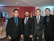 Erico Bessa, Udson Lima, Marco Antonio e Elys Nogueira
