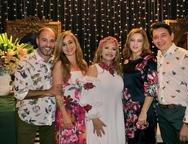 Marcus Novais, M�nica Albuquerque, Solange Mais, In�s Cavalcante e Recine Mour�o
