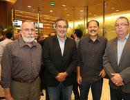Elmo Coelho, Paulo Angelim, Lupercio Gurj�o e Marcelo Frate