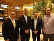 Ananias Granja, Jo�o Carlos Lima, �lcio Batista e Adriano Nogueira