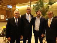 Emanoel Capistrano, Joao Carlos Lima, Elcio Batista e Ananias Granja