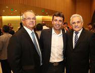 Helio Galisa, Marcos Novaes e Eamnoel Capistrano