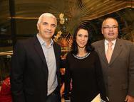 Fabian Salles, Ana Maria e Luciano Ramos