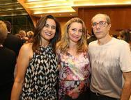 Solange Lima, Luizi e Herbert Santos