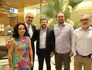 Val�ria Xavier, Jo�o Carlos Lima, �lcio Batista, Adriano Nogueira e Edson Barbosa