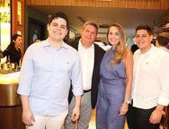 Bob Filho, Bob, Rivana e Pedro Santos