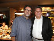Gl�ucio Binder e Bob Santos