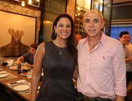 L�dia Oliveira e Douglas Santos