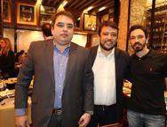 Robson Loureiro, Demostenes Batalhi e Camilo Vidal
