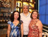 Val�ria Xavier, Kliff Villar e Adriana Joca