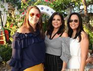 Daniela Medeiros, Maria L�cia Carapeba e Roberta Fontenele