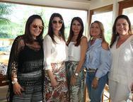 Giana Studart, Liliana Farias, Lorena Pouchain, In�s Cals e Lili Cialdine