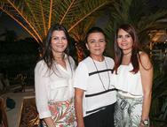 Liliane Farias, Guiomar Feitosa e Lorena Pouchain