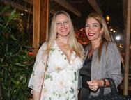 Lia Fontes e Daniele Holanda