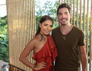 Natasha Diniz e Bruno Parente