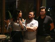 Maria L�cia Carapeba, Roberto Alves e Vin�cius Machado