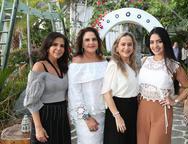 Maria L�cia Carapeba, Celina Fiuza, Cristiane e Carolina Ary