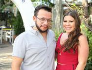 Roberto Alves e Maria Clara Carapeba
