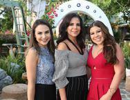 Adriana Queiroz, Maria L�cia e Maria Clara Carapeba