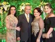 Lia, Eymard, Bárbara e Ana Paula Freire