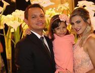 Michael Viana, Iasmim Gabrielle e Luciana Albuquerque