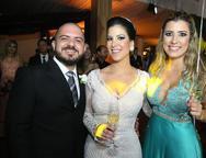 Jimmy Lucas, Raquel Barroso e Ana Fi�za
