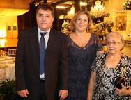 Mauro, M�rcia e Leonira Pinheiro
