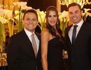 Pedro Accyole, Adriana Coutinho e Ricardo Rocha