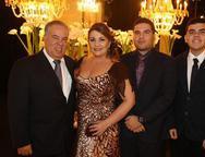 Dalter, Alexandra, Dalmo e Gustavo Mendes