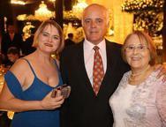 Nuria Calles, Ilario Prata e Edenir Braga