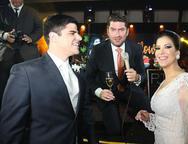 Bruno Veras, Paulo Jose e Raquel Barroso