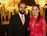 Adolfo Ferrer e Mariana Mota