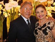 Carlos Cavacami e V�nia Portela