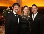 Sergio Falcao, Maria Tereza Ramos e Adriano Matos
