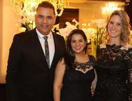 Adriano Mato, Juliana Menezes e Maria Tereza Ramos