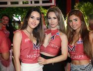 Alice Salvatori, Daine Nogueira e Mayara Brenda