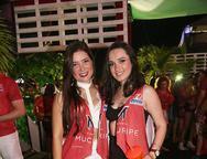 Erica Alves e Rochane Magalh�es