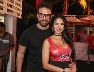 Pedro Faustine e Juliana Silva