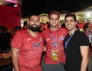 Victor Luis Torres, Ravi Macedo e Pedro Garcia