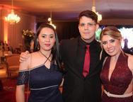 Eliane da Costa, Jo�o Felipe e Ana Lu�sa Almeida