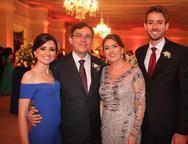 Thyane, Raimundo, Ana Auzira e Caio Carneiro