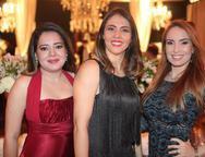 Marisa Moreira, Cinthya Moura e Ana Cristina Lima