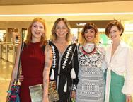 Gabi Dourado, Andrea Fialho, Clara Dourado e Paulinha Sampaio