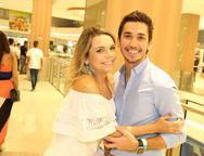 Lilian Porto e Bruno Parente